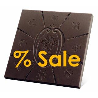 SALE 5 x 50g Schoko-Schamane Orange, 56% Kakao. Bruch-Ware ohne Umverpackung