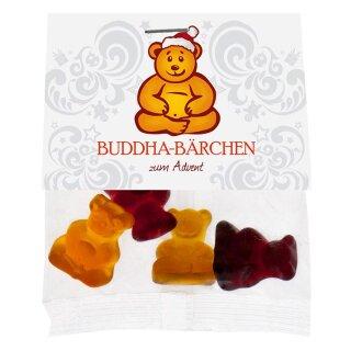 Buddha-Bärchen zum Advent